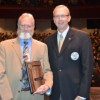 JD Ackman recieves SDHSAA Distinguished Service Award
