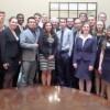 Students meet Warren Buffett