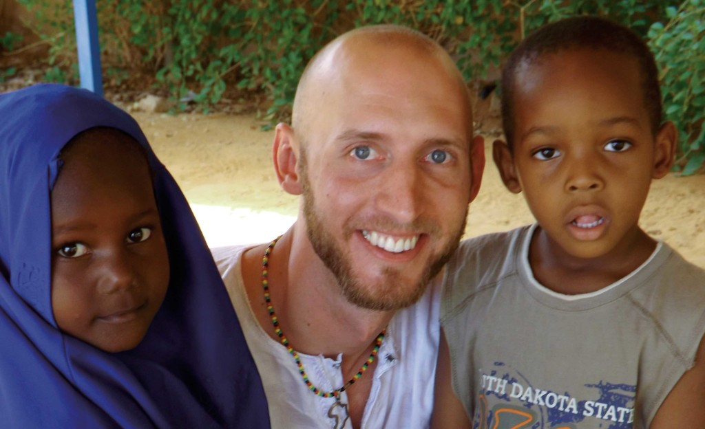 Nathan Bramsen is one of the students who participated in the Great Plains Interactive Distance Education Alliance. He is pictured here during his time in Niger.