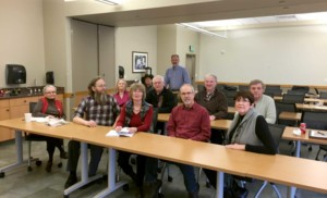 The Veterans' Writing Group met between five and 10 times a semester to review and discuss the various works.