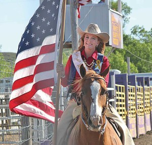 Dani Taylor has been taking advantage of online classes while serving as Miss Rodeo North Dakota.